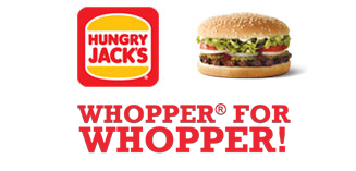 Hungry Jack's® WHOPPER® for WHOPPER