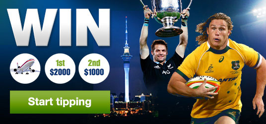 Tip Super Rugby for your chance to win prizes